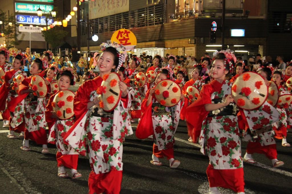花笠祭り山形