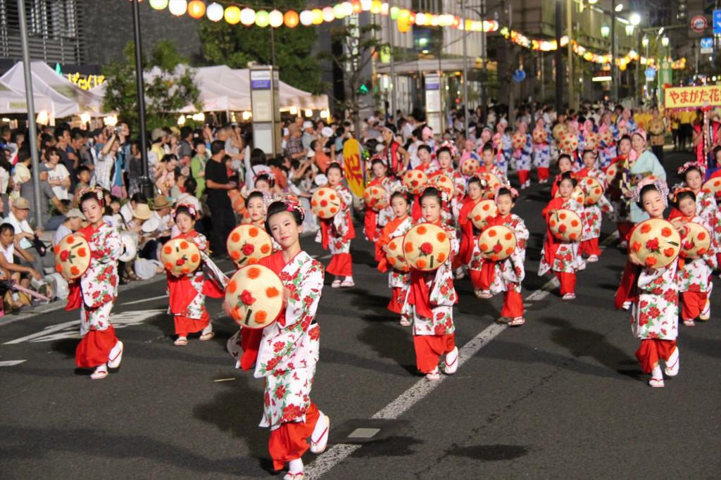 山形花笠祭りキャッスル