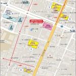 【管理】ホテルキャッスル駐車場案内地図_2017 - コピー - コピー