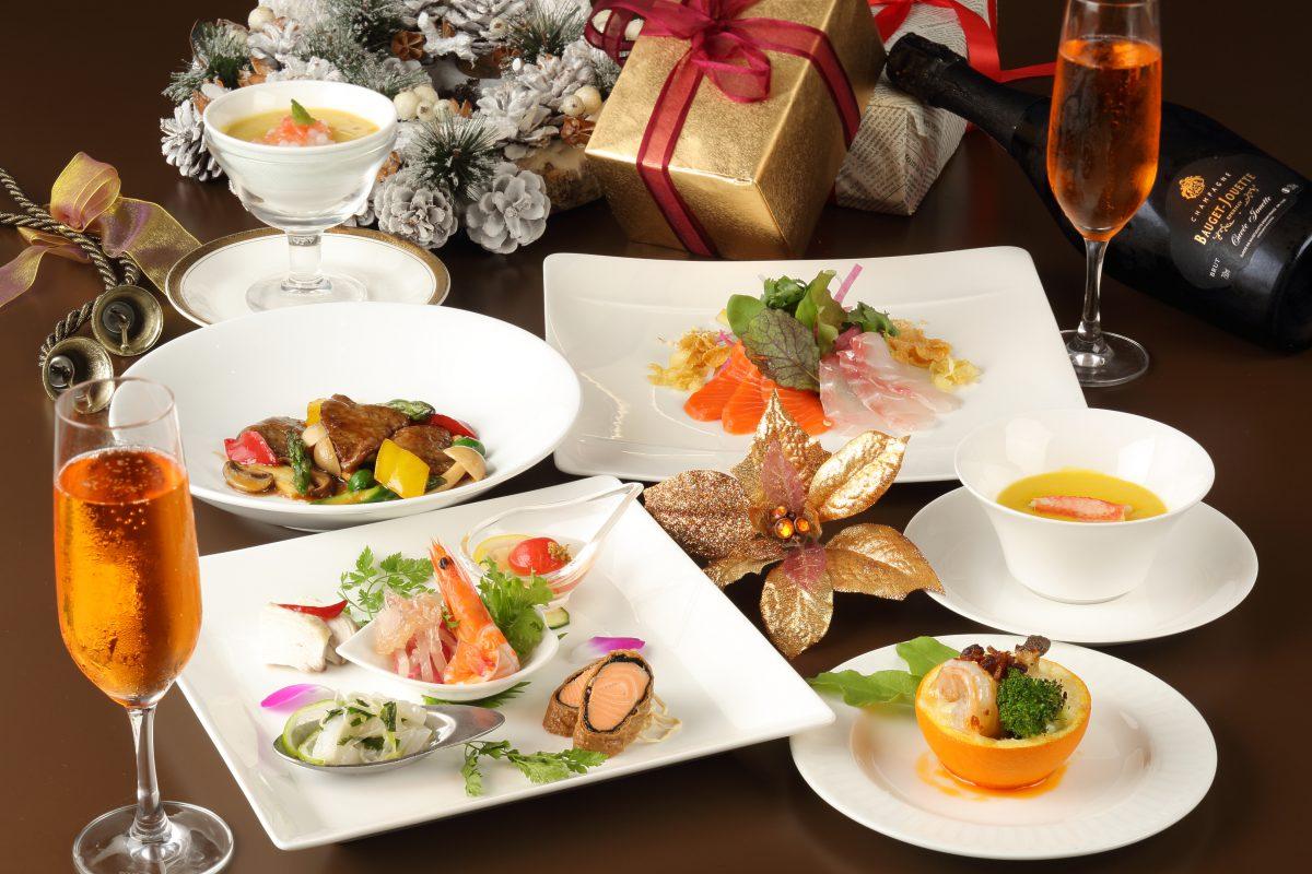 中国料理 櫻果林 クリスマスディナー