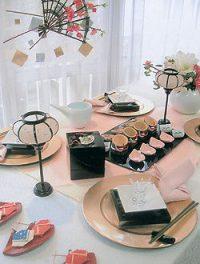 結婚式場 ホテルキャッスル 雛祭り コーディネート