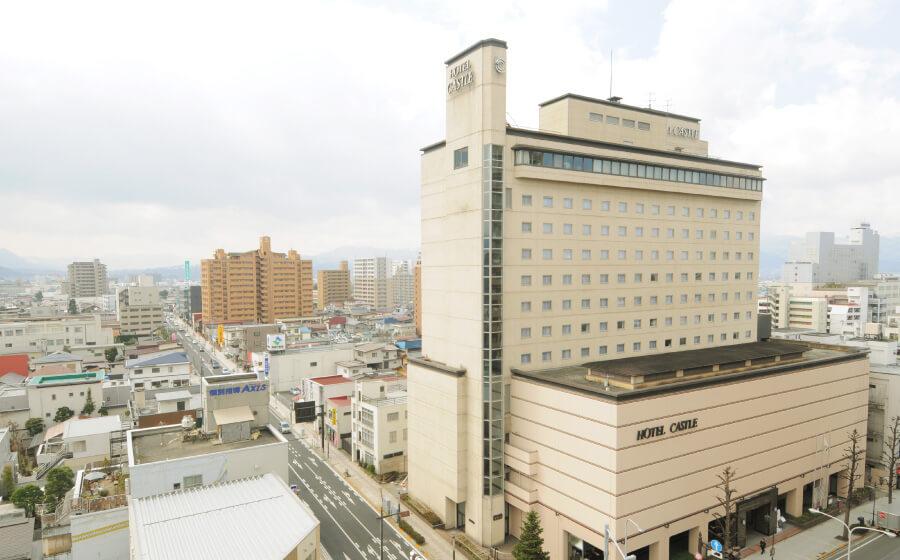 JR山形駅 東口より徒歩7分 ホテルキャッスル山形