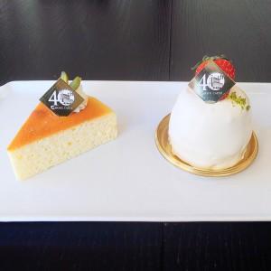 40周年ケーキ